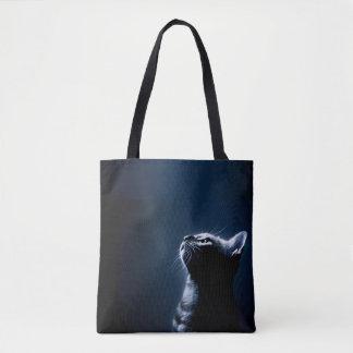 Bolsa Tote sacola do gato