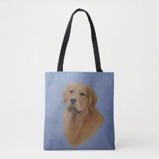 Bolsa Tote Sacola do golden retriever