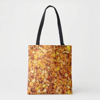 Bolsa Tote Sacola do impressão das folhas de outono toda