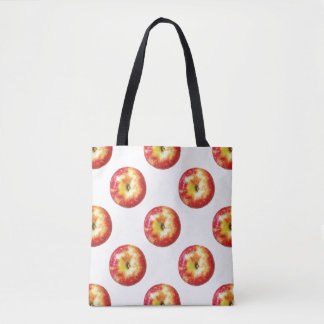 Bolsa Tote Sacola do impressão de Apple toda sobre -