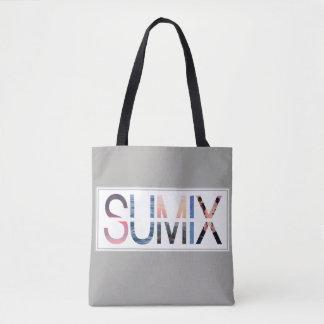 Bolsa Tote Sacola do impressão de Sumix toda sobre -