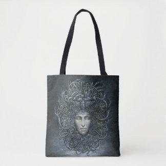 Bolsa Tote Sacola do impressão do Cyborg do Medusa toda sobre