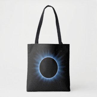 Bolsa Tote Sacola do impressão do eclipse solar toda sobre -