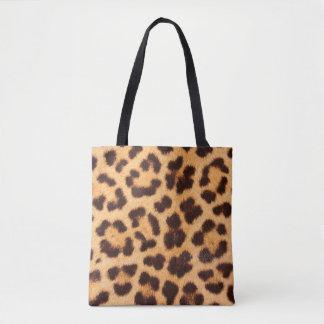 Bolsa Tote Sacola do impressão do leopardo