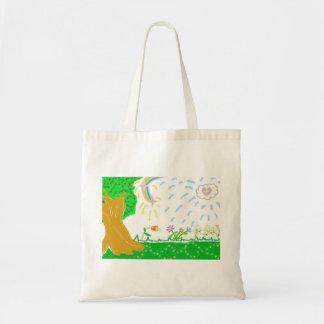 Bolsa Tote Sacola do jardim do primavera