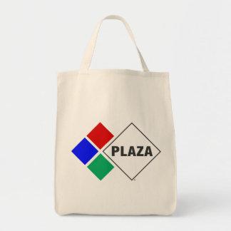 Bolsa Tote Sacola do mantimento da plaza