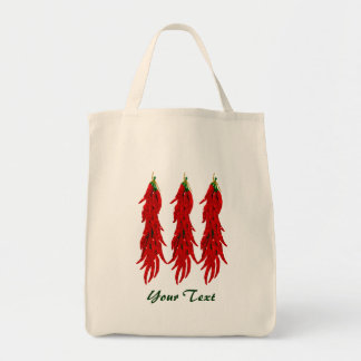 Bolsa Tote Sacola do mantimento das pimentas de pimentão