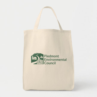 Bolsa Tote Sacola do mantimento do CPE - logotipo verde