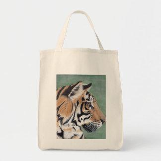 Bolsa Tote Sacola do mantimento do tigre