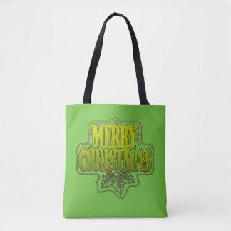 Bolsa Tote Sacola do Natal dos cumprimentos