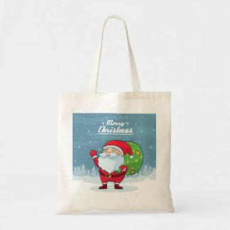 Bolsa Tote sacola do Natal feliz