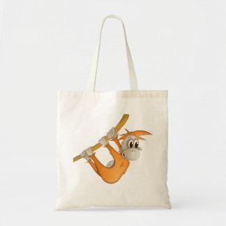 "Bolsa Tote ""Sacola do orangotango do selo pequeno do amor do"