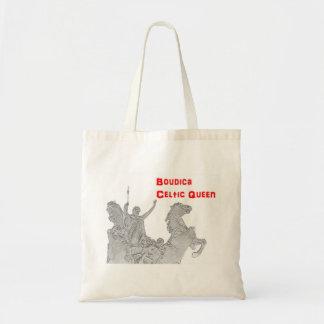Bolsa Tote Sacola do orçamento - Bodica - a rainha celta