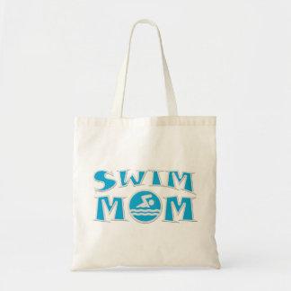 Bolsa Tote Sacola do orçamento da mamã da natação