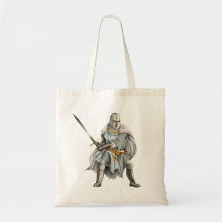 Bolsa Tote Sacola do orçamento do cavaleiro do cruzado