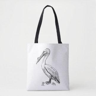 Bolsa Tote Sacola do pelicano