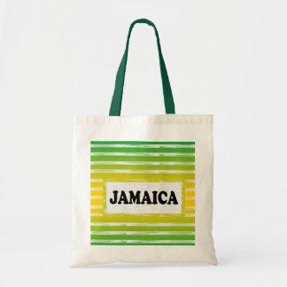 Bolsa Tote Sacola do preto do verde amarelo de Jamaica