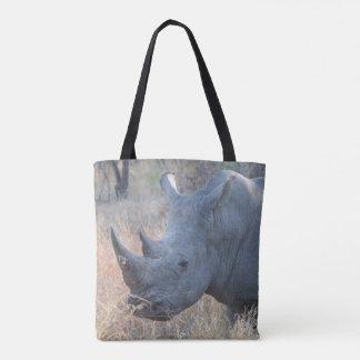 Bolsa Tote Sacola do rinoceronte
