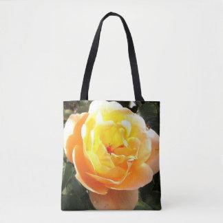 Bolsa Tote Sacola do rosa amarelo