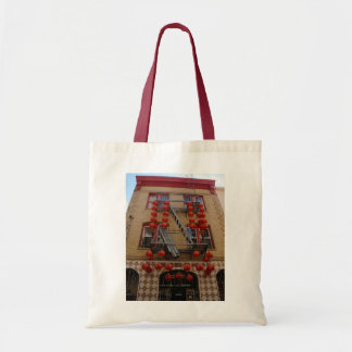 Bolsa Tote Sacola do templo de San Francisco Chinatown