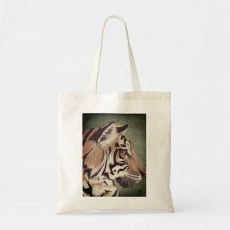 Bolsa Tote Sacola do tigre da aguarela