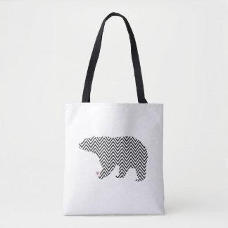 Bolsa Tote Sacola do urso polar