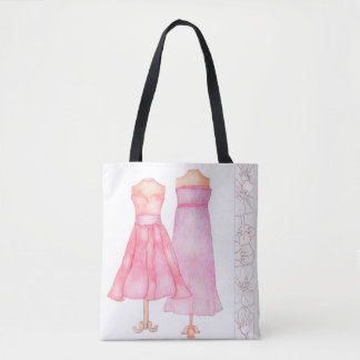 Bolsa Tote Sacola do vestido da princesa