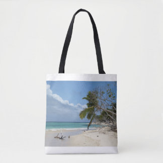 Bolsa Tote Sacola do viagem com a foto perfeita da praia