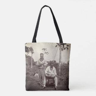 Bolsa Tote Sacola do vintage do 1920 dos músicos de Havaí