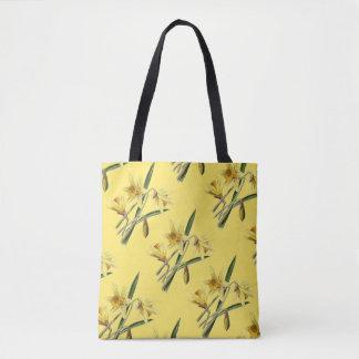 Bolsa Tote Sacola dos Daffodils do primavera do amarelo do