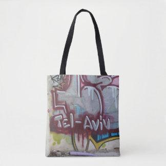 Bolsa Tote Sacola dos grafites de Tel Aviv