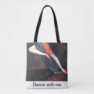 Bolsa Tote Sacola dos pés do tango para cada ocasião!