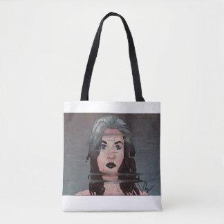Bolsa Tote Sacola dos trabalhos de arte por Victoria Blouin