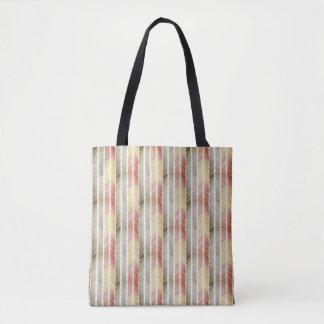 Bolsa Tote sacola emplumada do impressão da seta