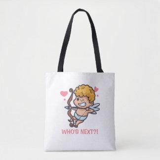 Bolsa Tote Sacola engraçada do dia dos namorados | do Cupido