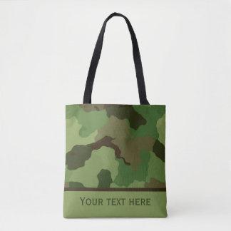 Bolsa Tote Sacola feita sob encomenda da camuflagem