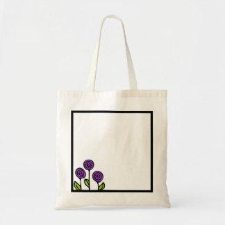 Bolsa Tote Sacola floral