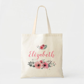 Bolsa Tote Sacola floral feita sob encomenda
