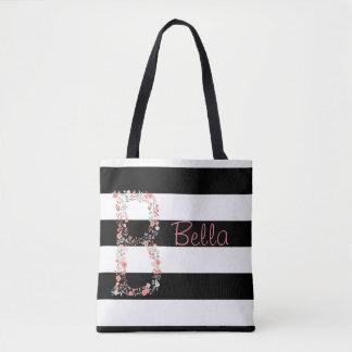 Bolsa Tote Sacola floral personalizada