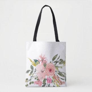 Bolsa Tote Sacola floral rústica - presente da dama de honra