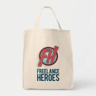 Bolsa Tote Sacola Freelance dos heróis