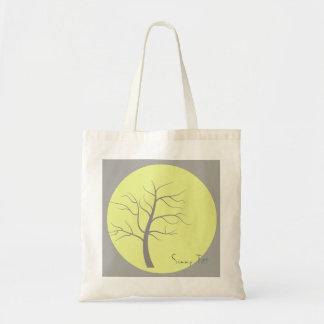Bolsa Tote Sacola funky da árvore ensolarada