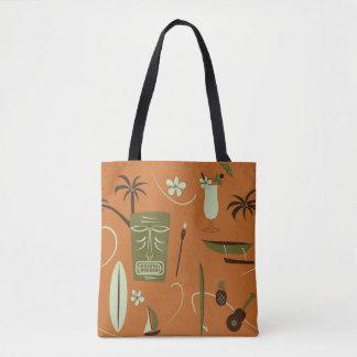 Bolsa Tote Sacola havaiana retro - vintage Havaí