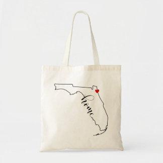 Bolsa Tote Sacola Home de Jacksonville Florida