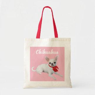 Bolsa Tote Sacola ilustrada chihuahua