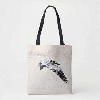Bolsa Tote Sacola impressa pelicano