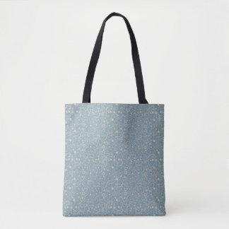 Bolsa Tote Sacola impressa simples delicado do teste padrão |