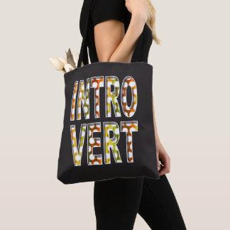 Bolsa Tote Sacola interna introvertida do design  