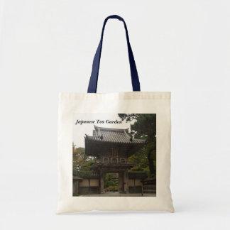 Bolsa Tote Sacola japonesa da entrada #2 do jardim de chá de