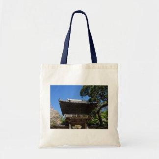 Bolsa Tote Sacola japonesa da entrada #3-2 do jardim de chá